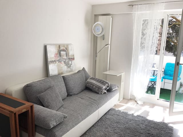 Charming, cozy studio near Hohenzollernplatz - München - Apartment