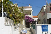 house apartments.in a quiet position,across the sea