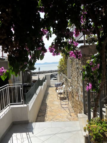 in a quiet position,across the sea..magnificent and unique view-balcony of the apartment.in a quiet position,across the sea