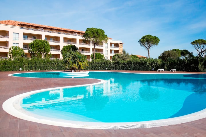 Appartement cosy classé 3*. Résidence avec piscine
