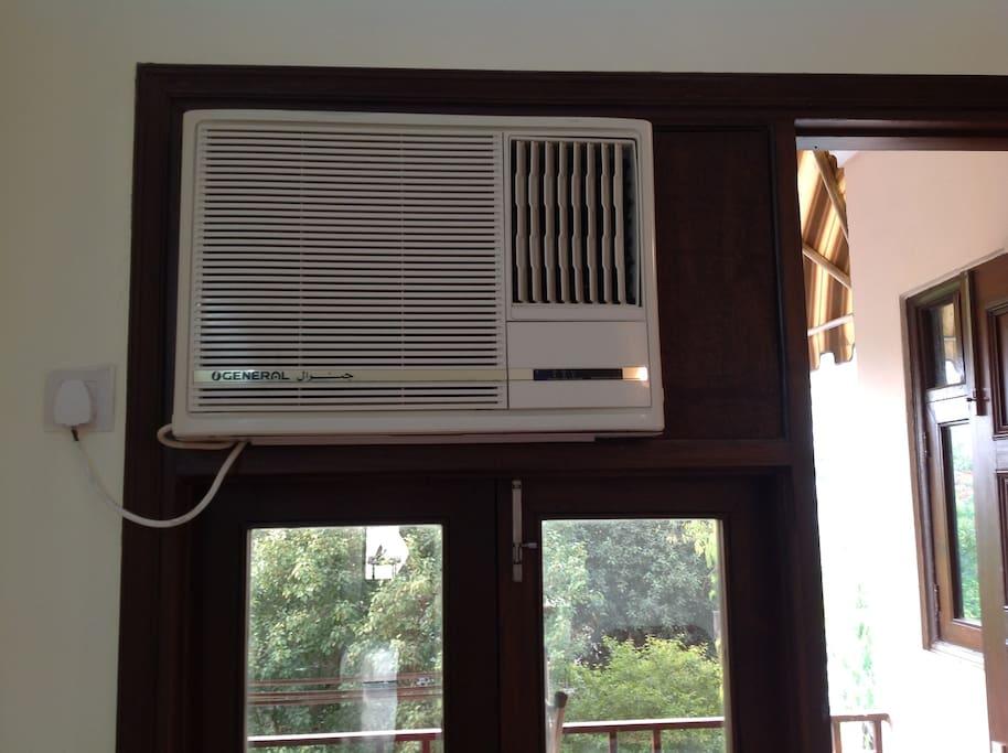 Une climatisation neuve (A new Ac)