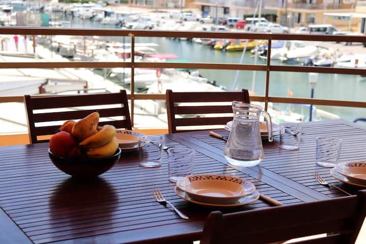 Portocristo - Nice apartment with marina's views