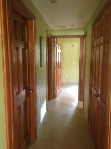 Hallway of the home.