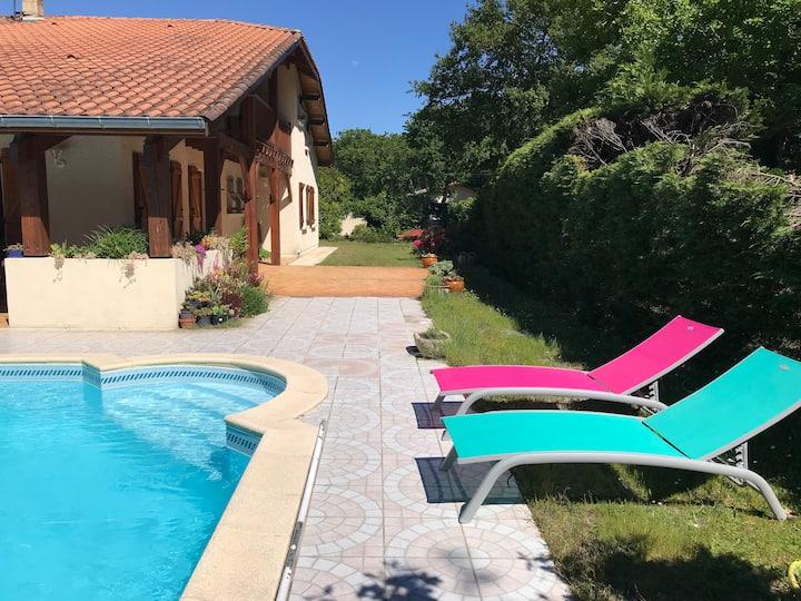 Maison Villa Bassin d'Arcachon 170m2 avec piscine