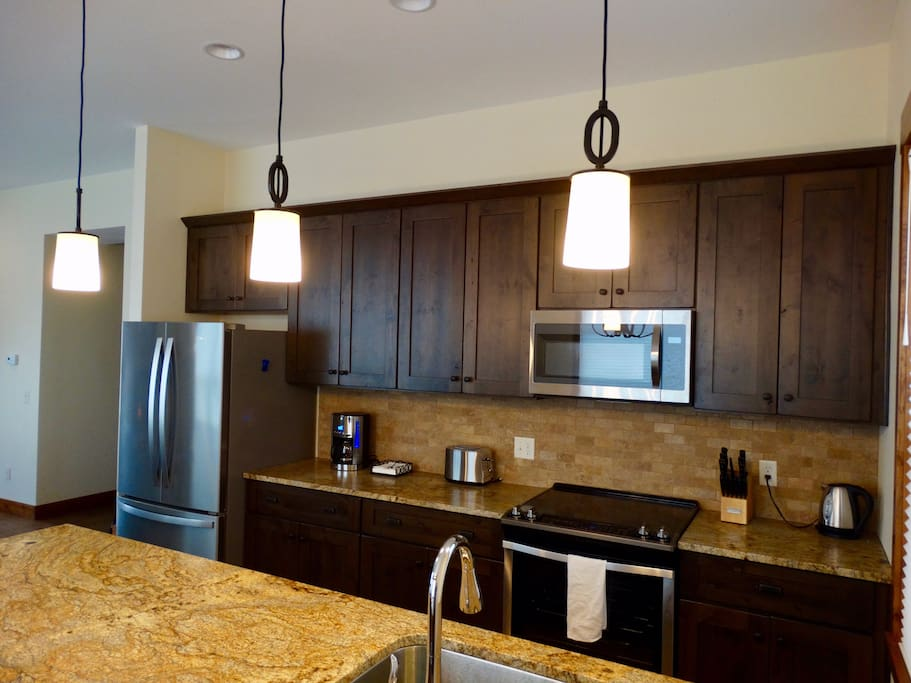 Kitchen with Granite Tops