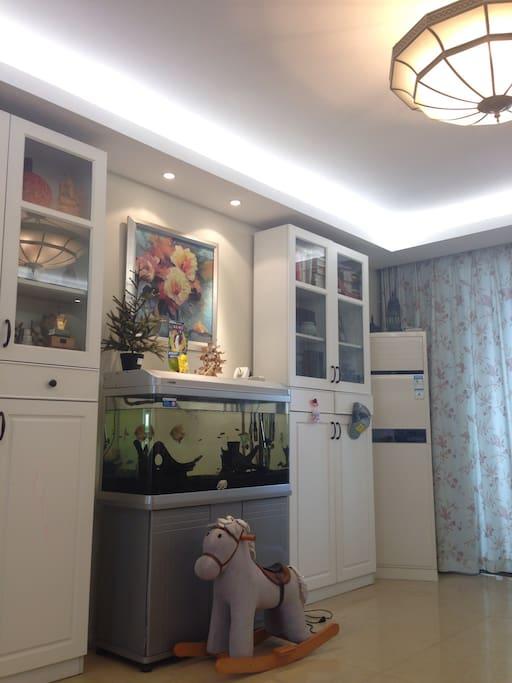 简约美式风格客厅