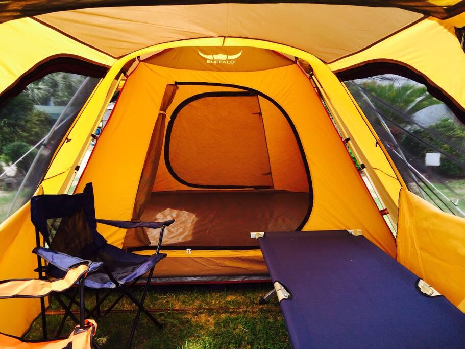 2~3인 이용 가능한 가장큰 텐트