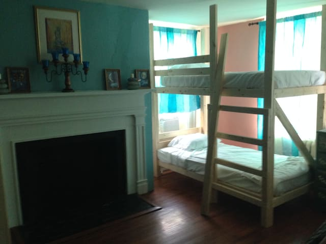 dorm style room for group up to 8