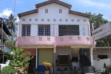Family Inn Double AC Room with Free Bike Hire - Trincomalee