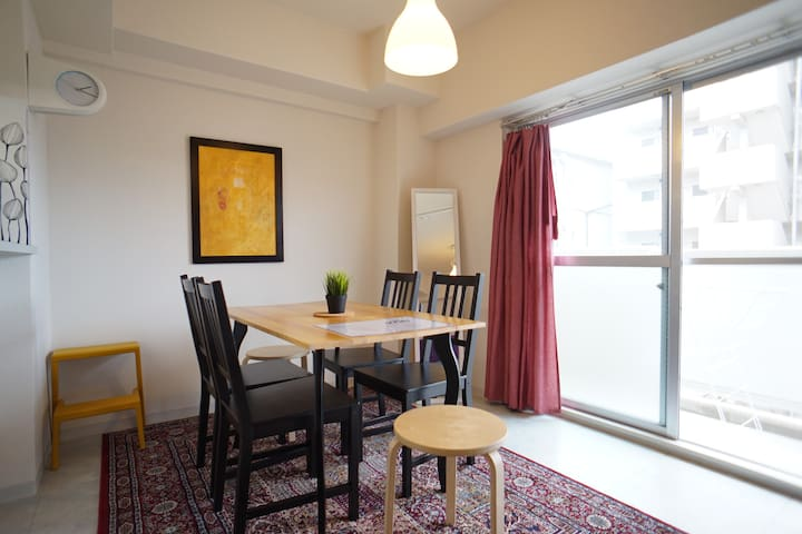 .Huge 2 flats all for you 16ppl/max - Ōsaka-shi - Apartment