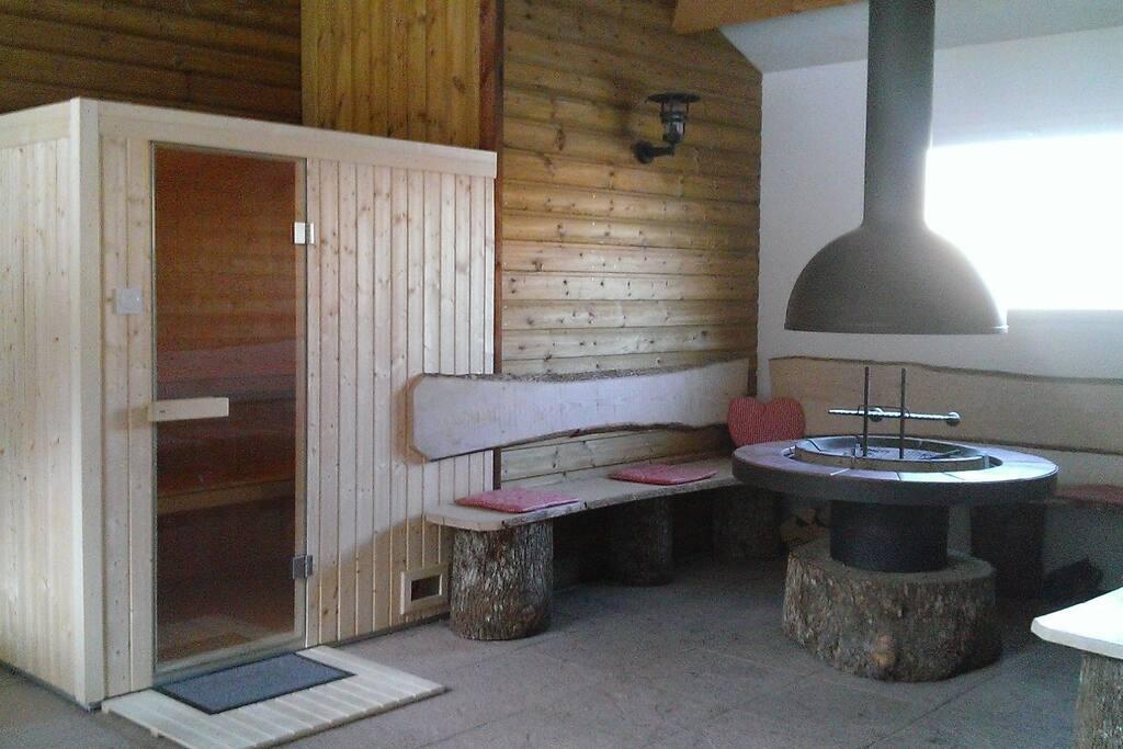Sauna et Grill pour des soirées entre amis