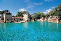 Venetian pool 5 minutes from home