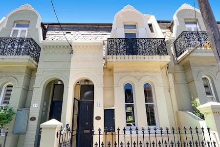 Stunning Central Sydney Terrace in super quiet St. - Woollahra - Huis