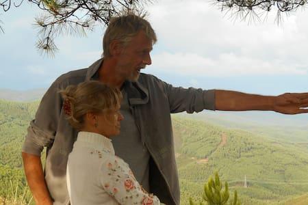safaritent op eco-schapenboerderij - Villasbuenas de Gata