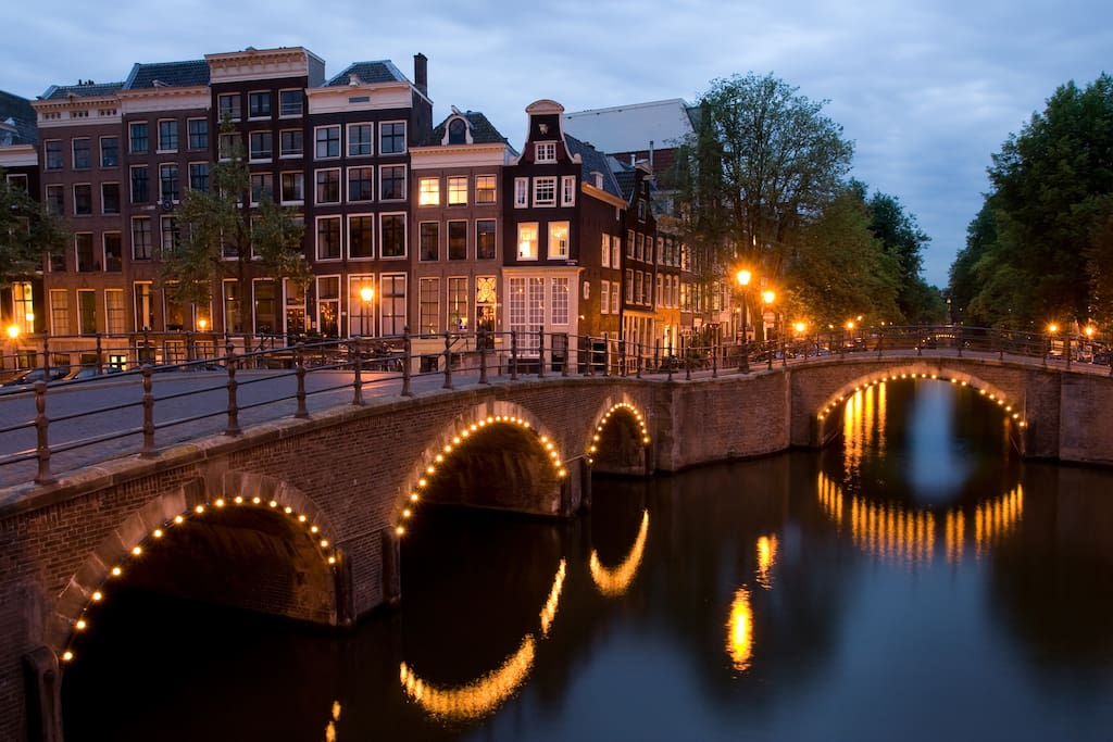 The real Amsterdam, just around our corner