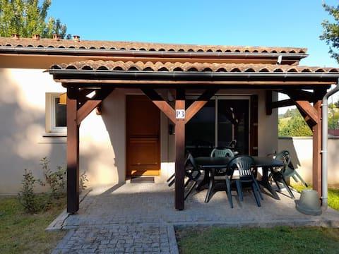 ⭐SARLAT⭐logement piscine/parking/wifi/jardin P3