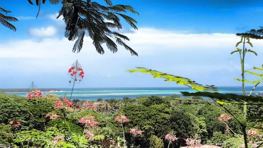 Tropical Getaway ☆ Reef View ☆ Near Beaches  2BR