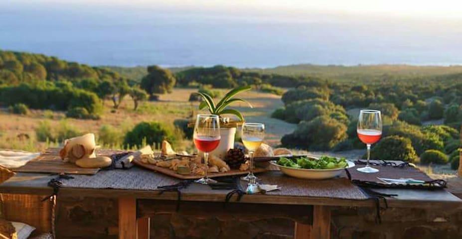 Romantica Casa Playa Bolonia Tarifa - Tarifa - Haus