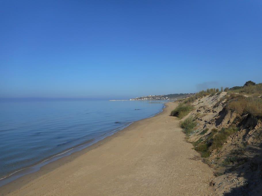 Wunderbar sauberes Meer