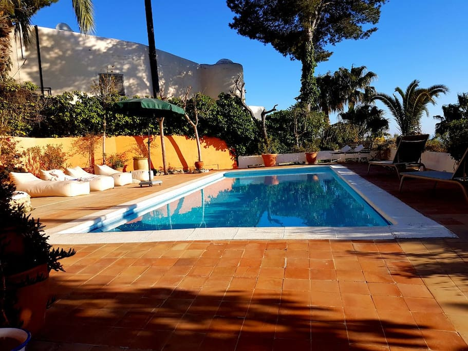 Big villa great views ibiza sea houses for rent in - Ibiza house renting ...