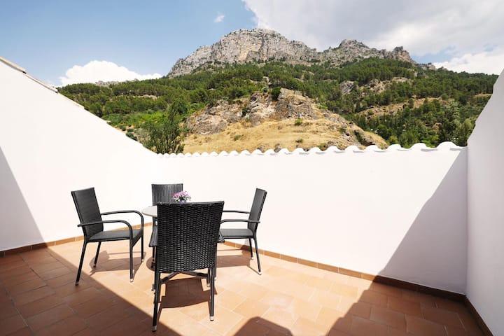 Piso en Cazorla c/ vistas al Castillo y la Sierra