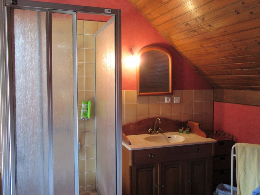 Grande chambre 28 m2 s jour sdb wc petit d jeuner for Chambre 9 m2 minimum
