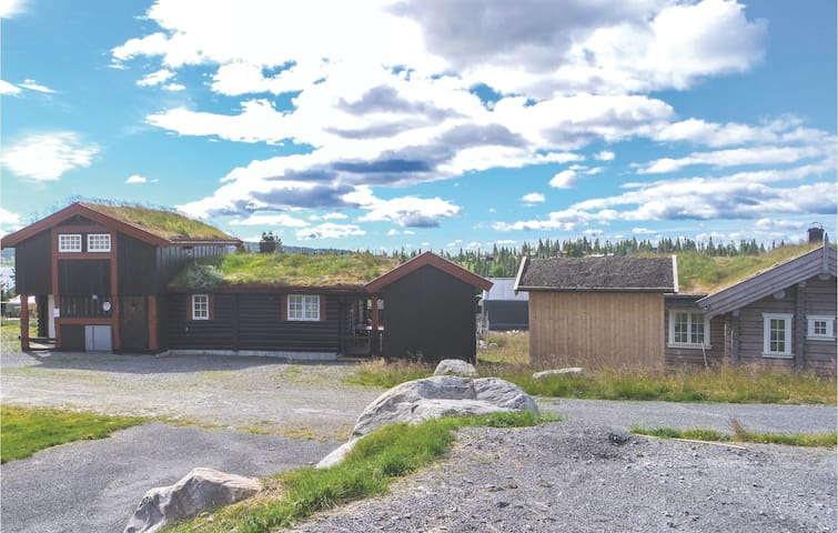 Holiday cottage with 4 bedrooms on 117 m² in Sjusjøen