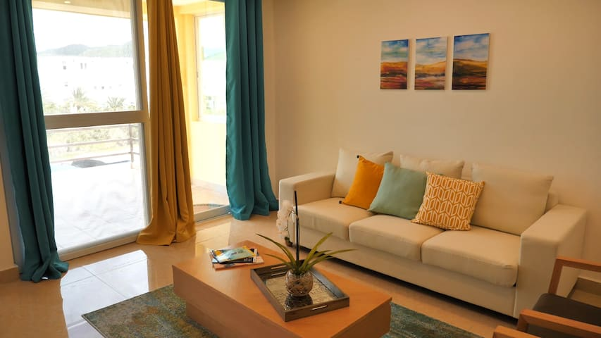 Panoramic 2Bd Bayview Upper Villa Jolly Harbour 6G