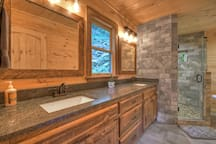 Master Bathroom with heated floors!