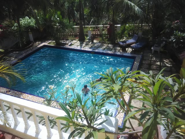 Pool villa in North goa