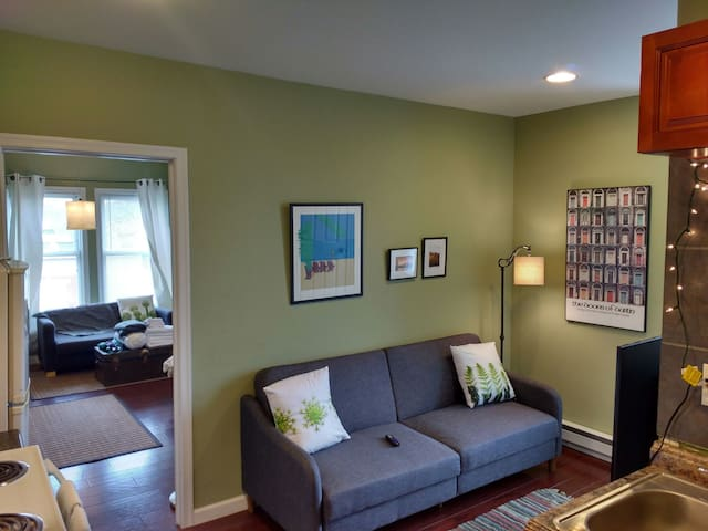 Oasis w/ parking 1.5 mi to NFL draft / Art Museum - Philadelphie - Appartement