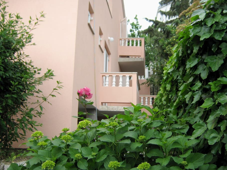 Bed & Breakfast LIDIJA-RAB:das Haus