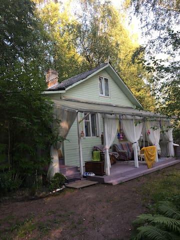 Солнечный домик на финском заливе