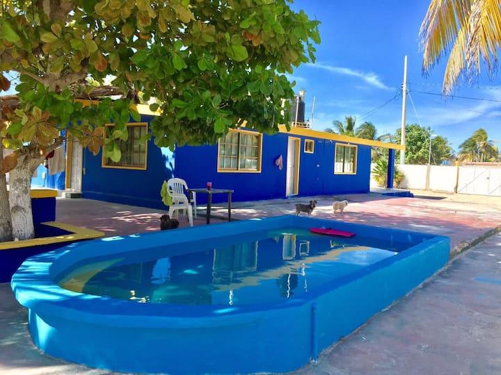 VILLA AZUL CHELEM - Casa de playa (Beach House)