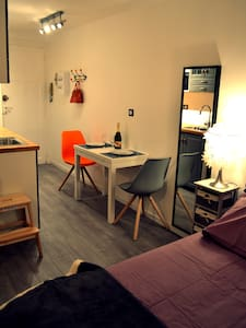City Center - Cosy + private courtyard - Biarritz - Pis