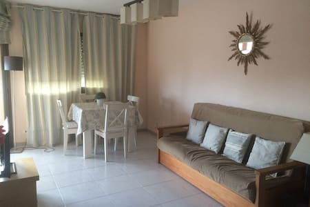 Cozy apartment with pool and next to the beach - Torredembarra