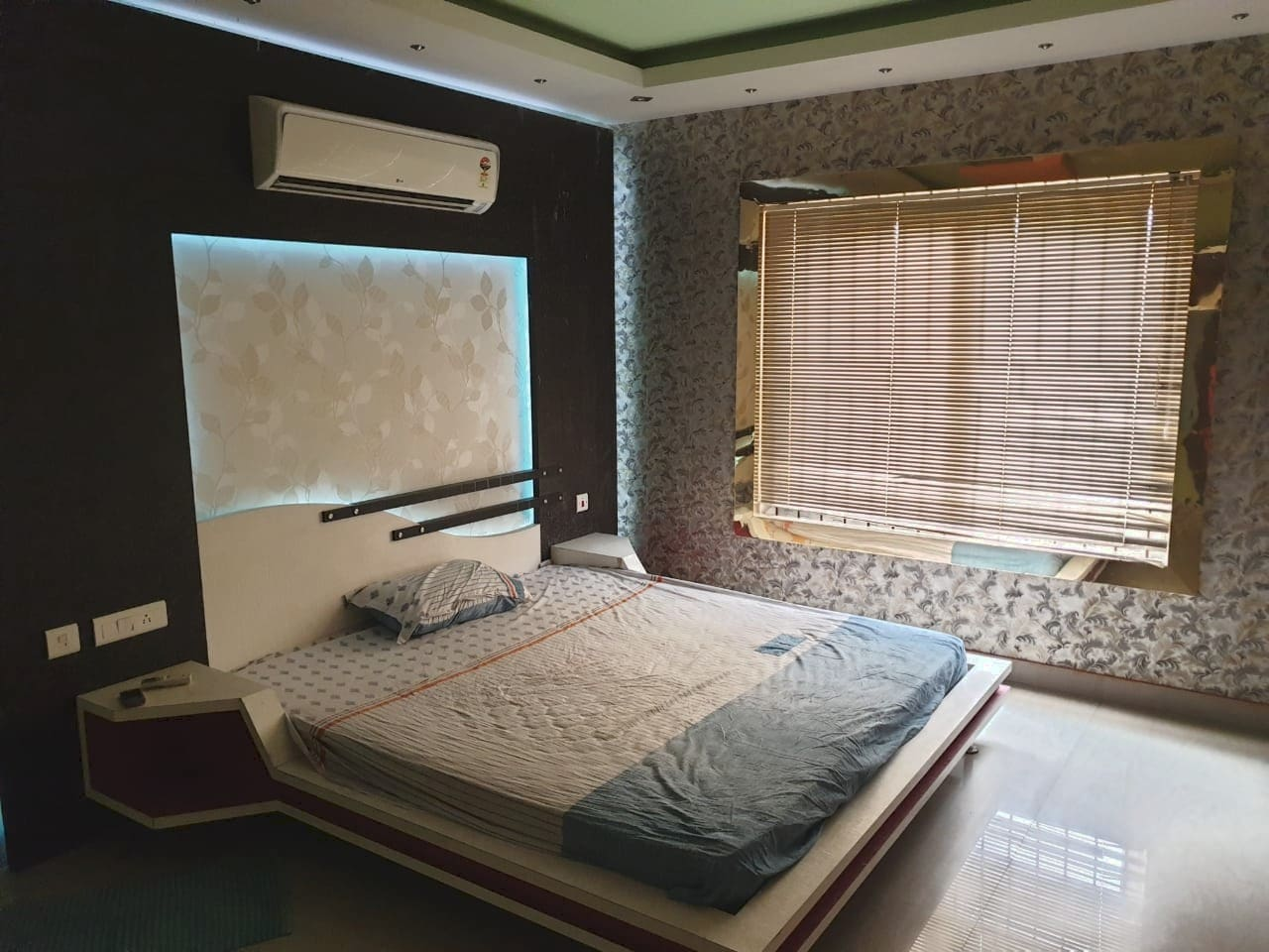 Bedroom 1 w/attached Bathroom and Dressing room.