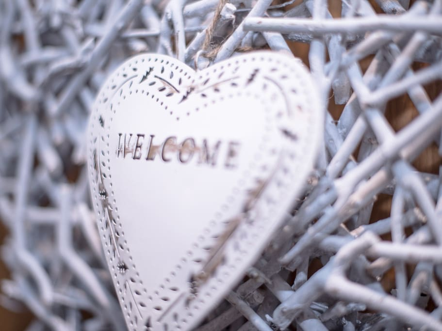 """We hope that you will feel """"Welcome"""""""