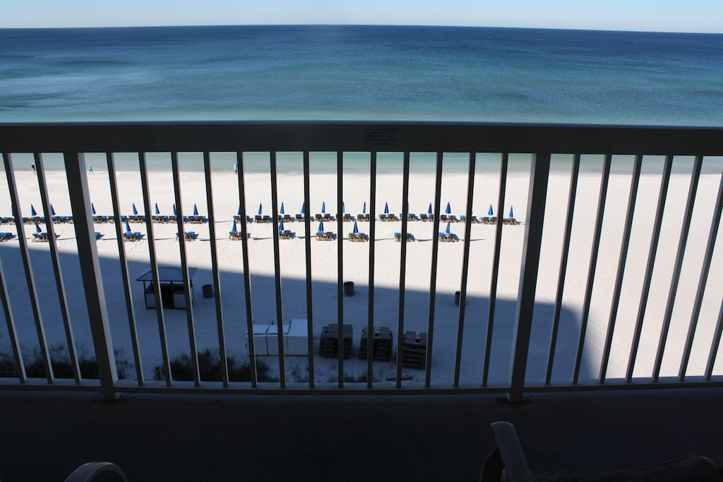 Amazing view from balcony