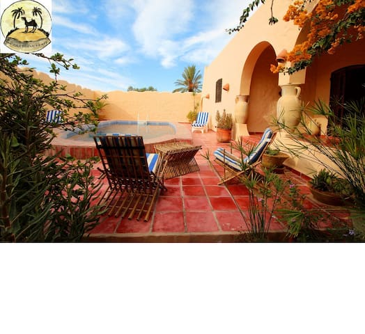 VILLA DJERBA HACHAN PRIVATE POOL NOT OVERLOOKED - houmt souk  - House