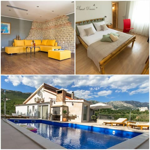 NEW! Villa Amore Split with pool, gym, fun zone..
