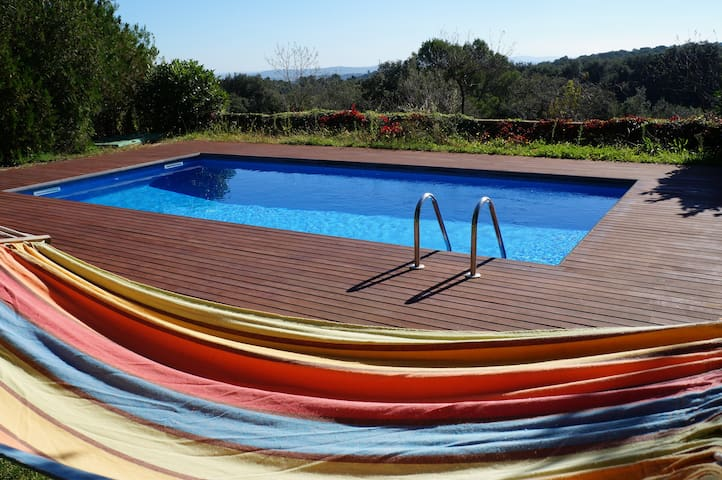 House up to 12 with garden and pool - Foixà - Huis