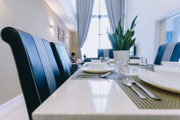 Mcity Duplex 3BR2B Sansevieria Suite Ampang-KLCC