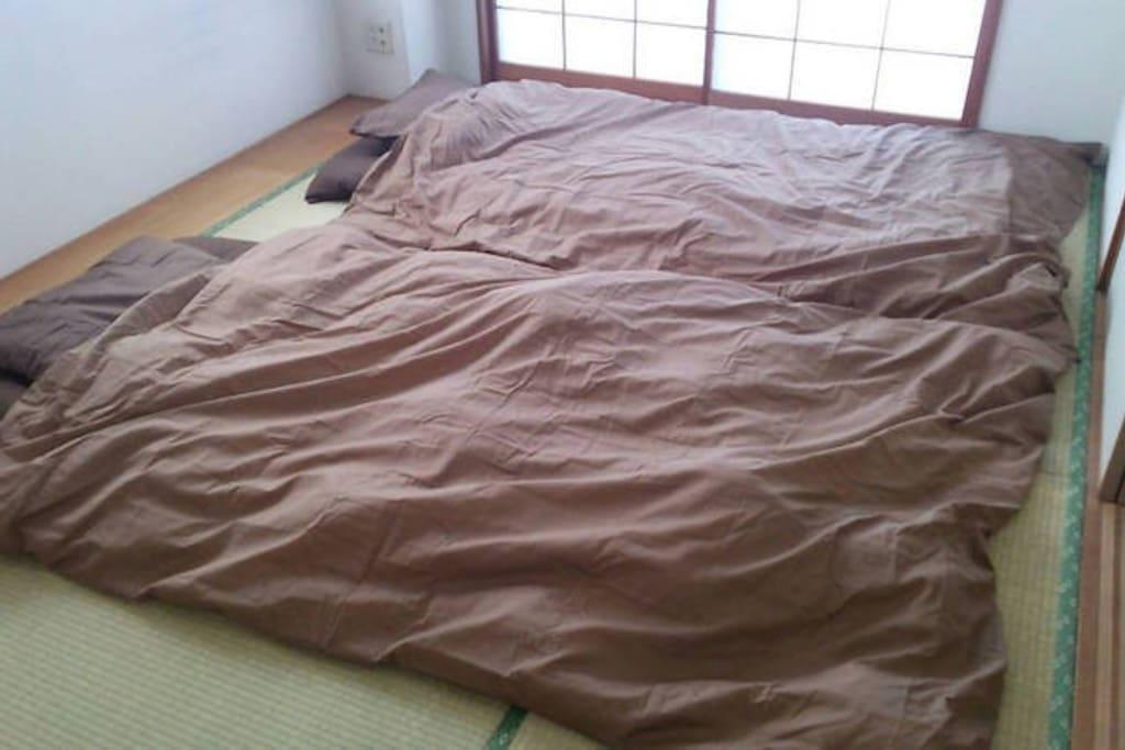 """快適な和室Japanese style Room """"Futon bed"""""""
