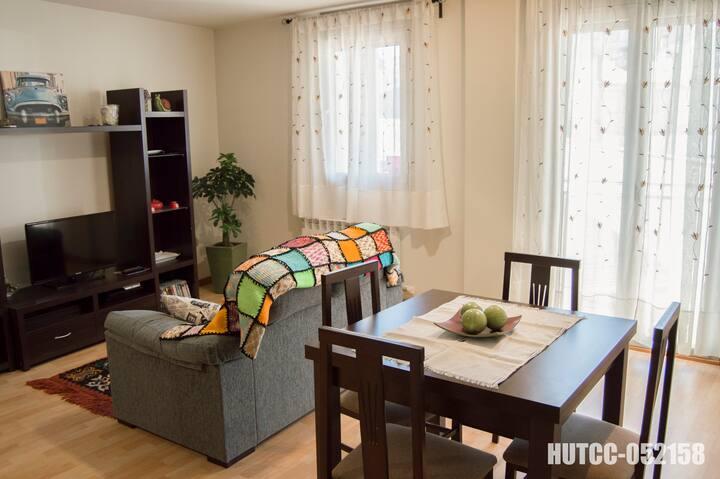 Acogedor piso para 4 en Berga
