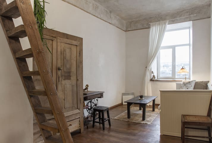 Bright cozy studio in the old town - Vílnius - Pis