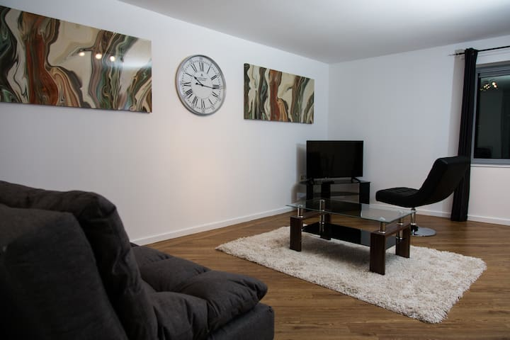 River Side Luxury Apartment A - Sunderland - Apartament