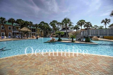 Poolside 1 BR Cottage @ Purple Parrot Resort