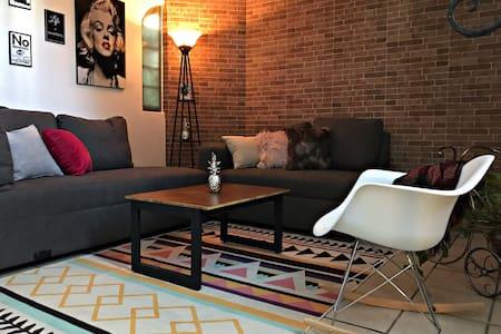 Bonito y acogedor apartamento en Zapopan