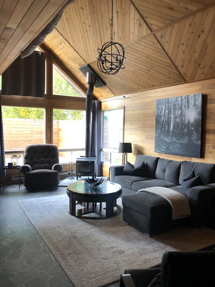 Lee Side Cabin Retreat w/hot tub and private dock!